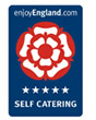 Enjoy England Self Catering 5 star award